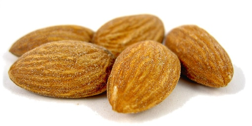 Salted Dry Roasted Almonds Almonds Nuts Com