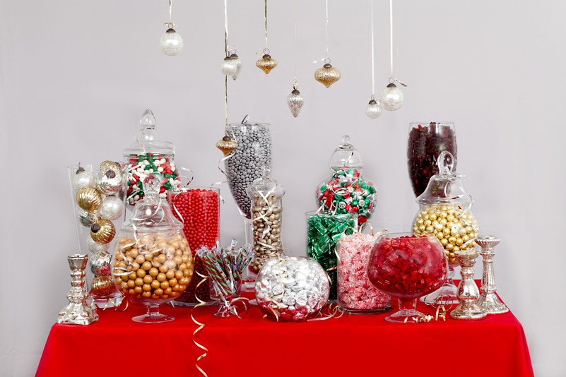 Holiday Candy Buffet — Candy Buffets — Wedding Candy ...